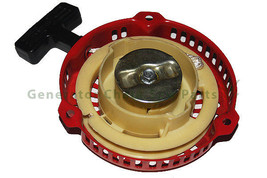 China 152F 152 Engine Motor Generator Alloy Pull Start Recoil Pully Rewind Parts image 2