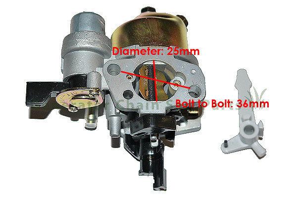 Tiller Pump Carburetor Carb Parts Chinese 173F Engine Motor 196cc 200cc 208cc image 2