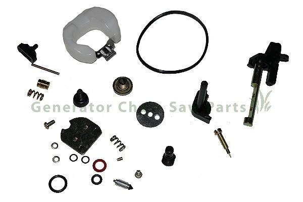 Baja Motorsports WR96 WR200 Carbon Mini Bike Carburetor Rebuild Repair Kit 196cc