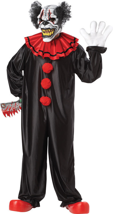 Primary image for Adult Laughing Evil Creeper Clown Halloween Costume