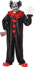 Adult Laughing Evil Creeper Clown Halloween Costume - £82.78 GBP
