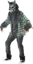 Adult Full Moon Fever Werewolf Deluxe Halloween Costume - £82.78 GBP