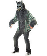 Adult Full Moon Fever Werewolf Deluxe Halloween Costume - $108.89