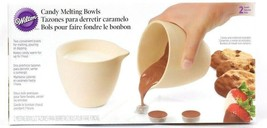 Wilton 2 Count Convenient Candy Melting Bowls For Melting Pouring & Dipping - $23.99