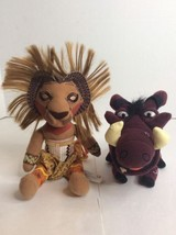Disney The Lion King Broadway Musical Show NYC Stuffed Plush Lot Simba &... - $21.49
