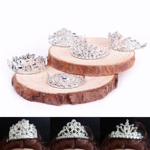 Accessories Doll 10pcs/set Crystal Plastic Sliver Crown Headwear Gifts C... - $4.98