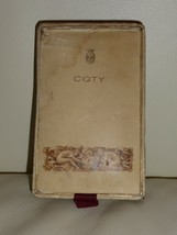 VINTAGE EMERAUDE DE COTY EMPTY PERFUME BOTTLE IN ORIGINAL BOX - $59.00