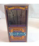 Disneys Magic Puppets Winnie the Pooh Eeyore in Box Mini Marionette Walt... - $34.16