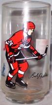 NHL Bob Probert Glass - $8.00