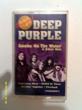 Deep Purple Smoke On the Water and Other Hits Cassette Tape - $8.99