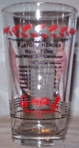 NHL Detroit Red Wings Glass 2002 Playoff Heroes Round 1 - $10.00