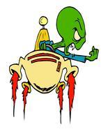 Aliens ArtClip40-Digital Download-ClipArt-ArtClip-Digital  - $4.00