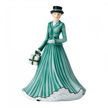 Royal Doulton Songs of Christmas, Wish You A Merry Christmas, 6.69 Inche... - $88.00