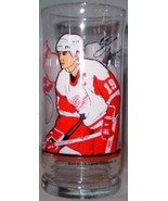 NHL Detroit Red Wings Glass Little Caesar's Spud & Silk - $10.00