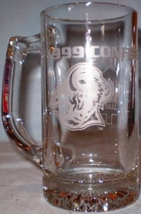 NHL Glass Mug 1999 Conference Finals Sabres-Leafs - $6.50