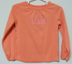 Toddler Girls Sonoma Peach Long Sleeve Top Size 3T - $3.95