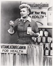 I Love Lucy Vita Lucille Ball Desi Arnaz Vintage 11X14 BW TV Memorabilia Photo - $12.95