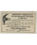 Simmons Hardware Phile PA Fast Mail hammer hatchet vintage advertising f... - $9.00