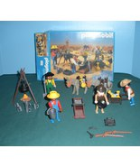 Vtg. Playmobil #3747 Gold Miners/Prospectors Comp. w/Box/ NR MT-MINT (A)... - $55.00