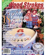 Tole Painting Magazine Wood Strokes & Woodcrafts July 1999 First Aid Box... - $4.50