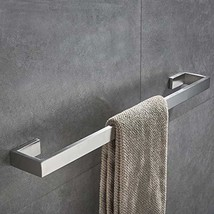 JunSun Towel Bar 24-Inch Stainless Steel Towel Holder Towel Bar Bathroom... - $28.90
