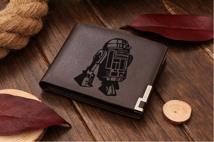 Star Wars R2D2 Leather Wallet for sale  USA
