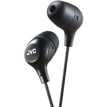 Jvc Marshmallow Inner-ear Headphones (black) JVCHAFX38B - $17.15