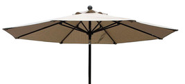 9  ft Umbrella  Sesame Beige color  image 2