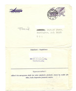 CZECHOSLOVAKIA 1973 Airletter Aerogram Jablonec CZ to Washington DC USA - €0,79 EUR