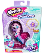 Shopkins Happy Places Royal Pearl Seahorse Mermaid Tails Color changing S6 - $9.95