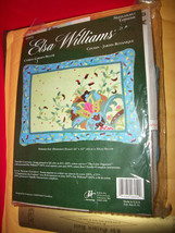 Craft Gift Elsa Williams Kit Cypress Garden Pillow Needlepoint Set Needle Point - $66.49