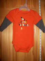 Faded Glory Baby Clothes 0M-3M Newborn Bodysuit Costume First Halloween ... - $12.34