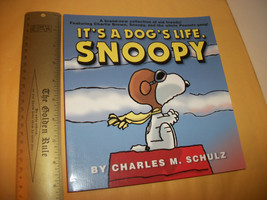 Peanuts Gang Snoopy Book It's a Dog's Life Comic Strips Cartoon Collecti... - $11.39