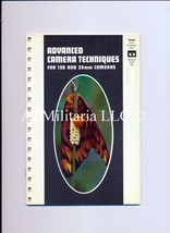Advanced Camera Techniques For 126 and 35mm Cameras - $5.75