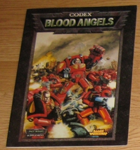 * Warhammer 40,000 Codex Blood Angels Space Mar... - $6.75