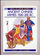Ancient Chinese Armies 1500-200 BC Men At Arms Series 218 - $10.75