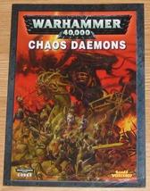 * Warhammer 40,000 Codex Chaos Daemons Games Wo... - $10.00