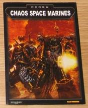 * Warhammer 40,000 Codex Chaos Space Marines Ga... - $10.00