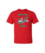 Tom and Jerry Personalized Red Birthday Shirt - $16.99+