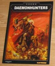 * Warhammer 40,000 Codex Daemonhunters Games Wo... - $10.00