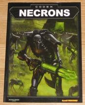 * Warhammer 40,000 Codex Necrons Games Workshop... - $10.00