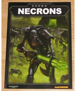 * Warhammer 40,000 Codex Necrons Games Workshop... - $10.00