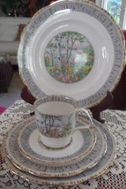 20 PCS ROYAL ALBERT SILVER BIRCH, SVC FOR  4, Excellent condition - $229.00