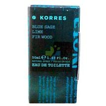 KORRES BLUE SAGE LIME FIR WOOD EAU DE TOILETTE 50ml - $32.99