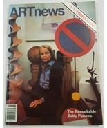 Artnews Arrière Question Magzine Mars 1979 The Remarkable Betty Parsons - $20.21