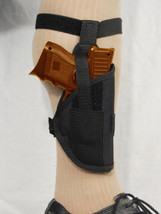 BARSONY Ankle Concealment Gun Holster for SIG P938 9mm - $29.99
