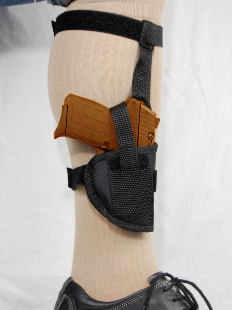 Primary image for BARSONY Concealment  Ankle Gun Holster for Taurus TCP .380 with thumb break