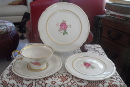 CASTLETON USA DOLLY MADISON CHINA  Salad Bread Plate Tea cup & saucer NM - $20.99