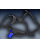 Barsony Black Leather Vertical Shoulder Gun Holster for Ruger SR9 SR40 Full Size - $49.99