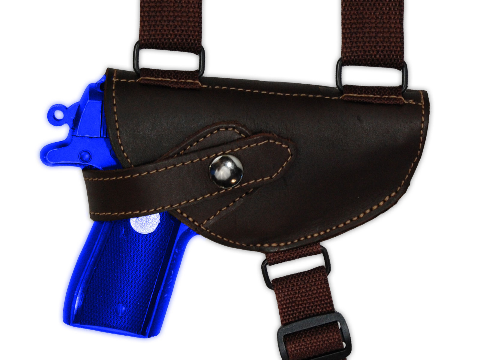 Barsony Brown Leather Concealment Shoulder Holster for Sig P230 P232 P238